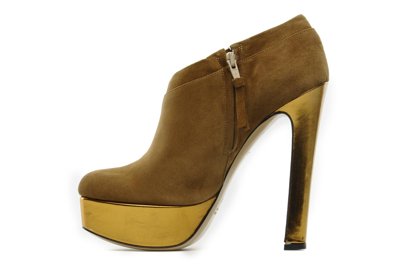 Stiefeletten & Boots De Siena shoes Amalia beige ansicht von vorne