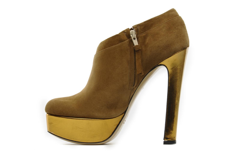 Ankle boots De Siena shoes Amalia Beige front view