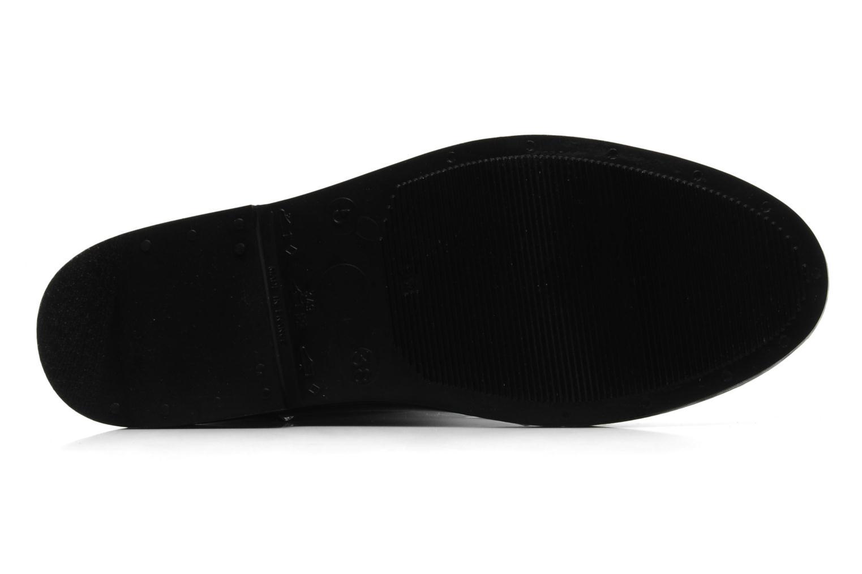 Stiefel Méduse Flampard schwarz ansicht von oben