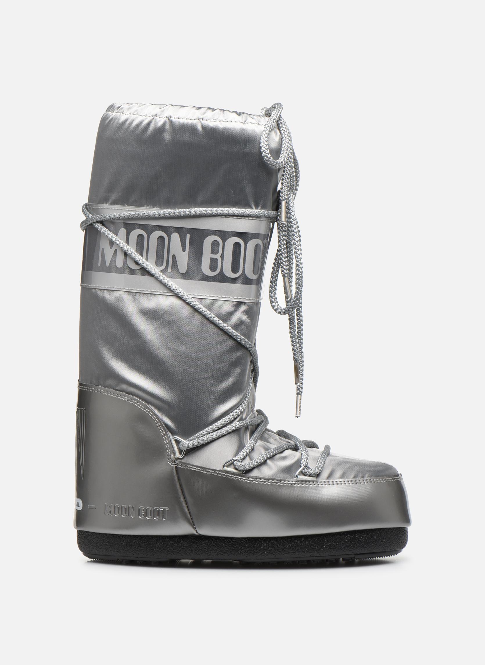 Chaussures de sport Moon Boot Glance Argent vue derrière