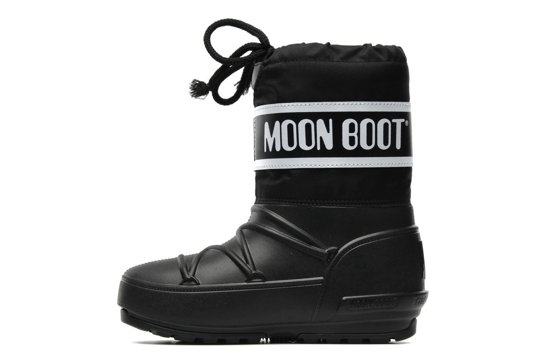 Sportschuhe Moon Boot Moon Boot Pod Jr schwarz ansicht von vorne