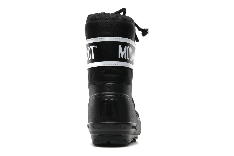 Sportschuhe Moon Boot Moon Boot Pod Jr schwarz ansicht von rechts