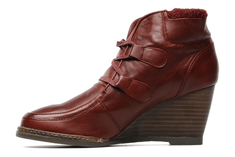 Boots en enkellaarsjes Karston Kuazdi Bordeaux voorkant