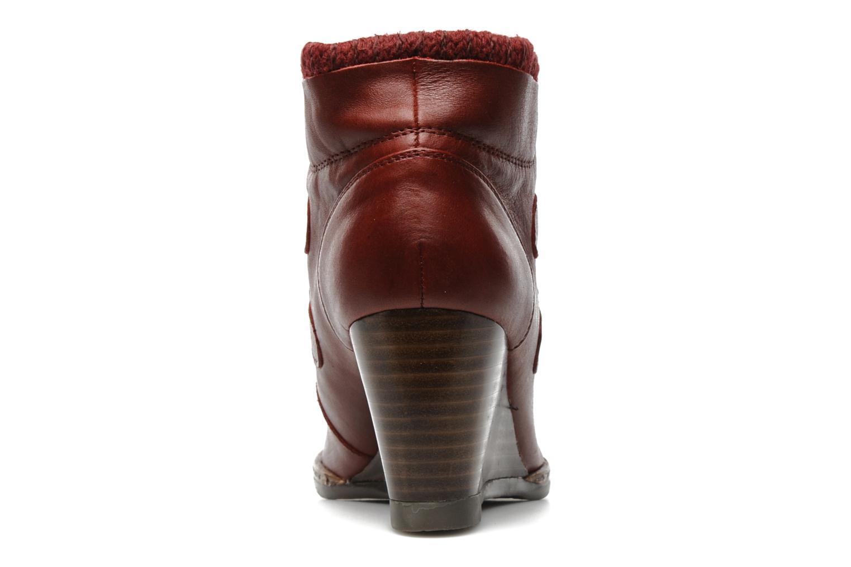 Boots en enkellaarsjes Karston Kuazdi Bordeaux rechts