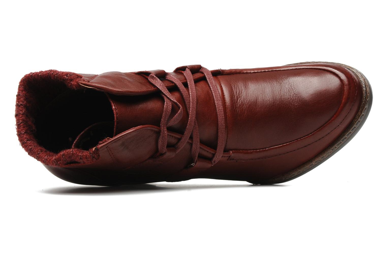 Boots en enkellaarsjes Karston Kuazdi Bordeaux links