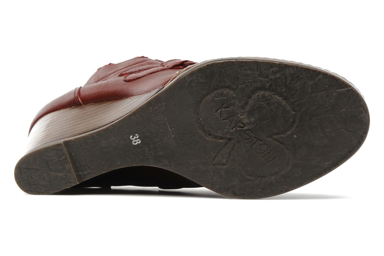 Boots en enkellaarsjes Karston Kuazdi Bordeaux boven