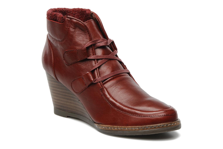 Boots en enkellaarsjes Karston Kuazdi Bordeaux detail