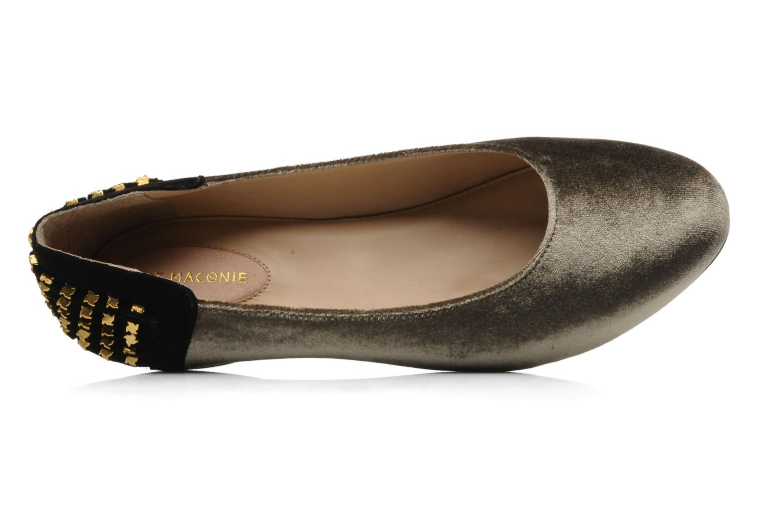 Ballet pumps Kat Maconie CECILIA Grey view from the left