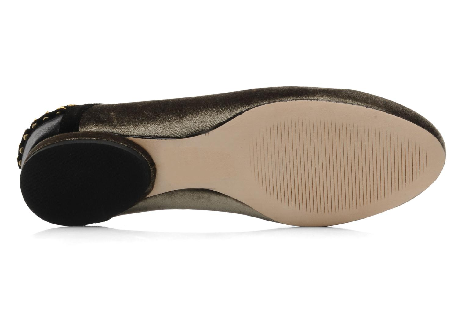 Ballet pumps Kat Maconie CECILIA Grey view from above