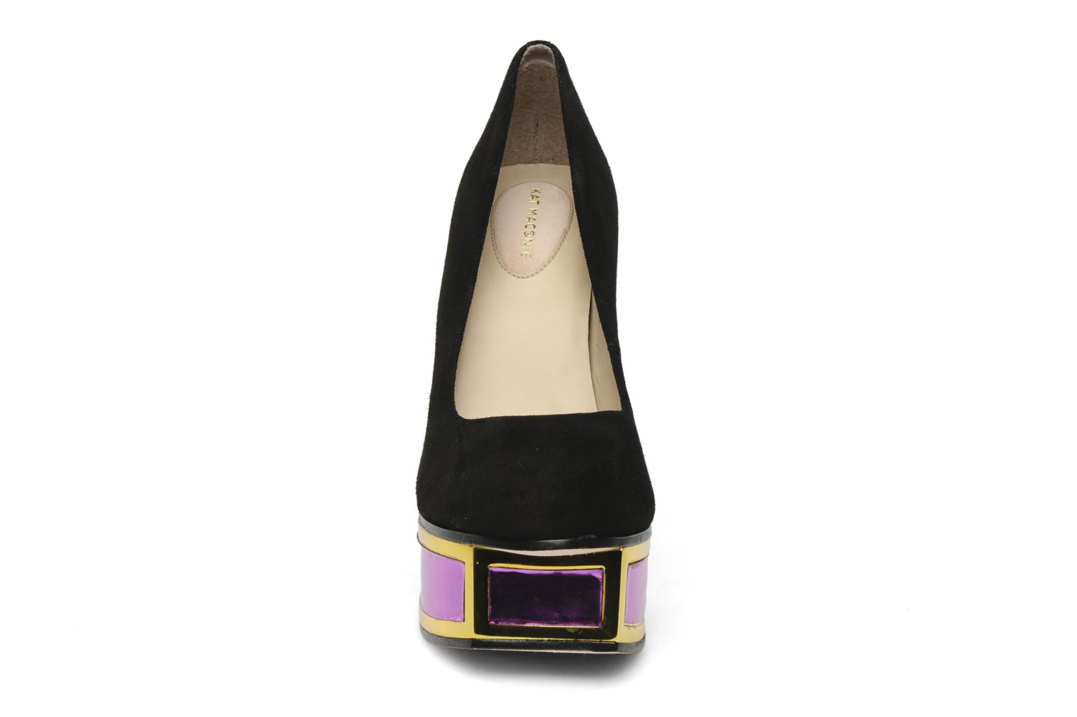 VALERIE KID SUEDE BLACK MIRROR PURPLE
