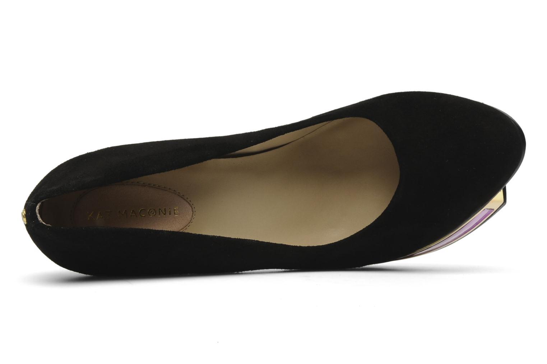 High heels Kat Maconie VALERIE Black view from the left