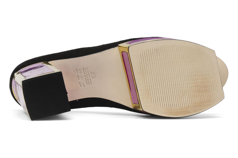 Zapatos de tacón Kat Maconie VALERIE Negro vista de arriba