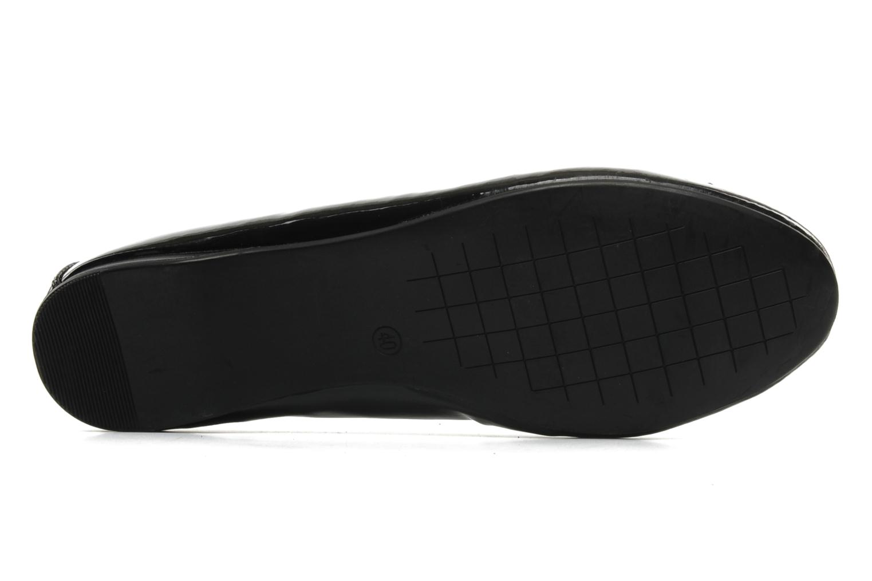 Ballerines I Love Shoes Subal Noir vue haut