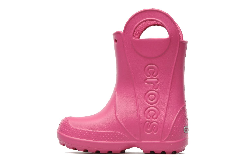 Laarzen Crocs Handle it Rain Boot kids Roze voorkant