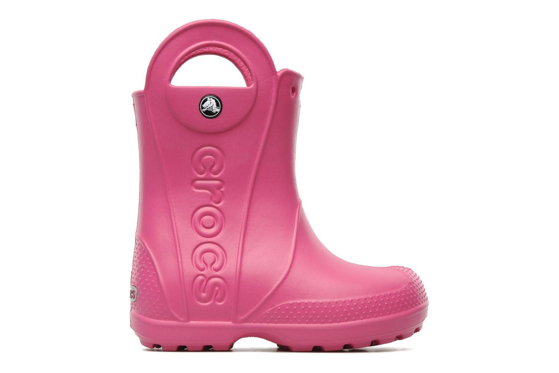 Laarzen Crocs Handle it Rain Boot kids Roze achterkant