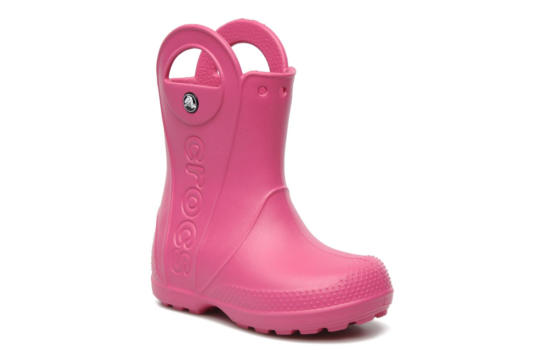 Laarzen Crocs Handle it Rain Boot kids Roze detail