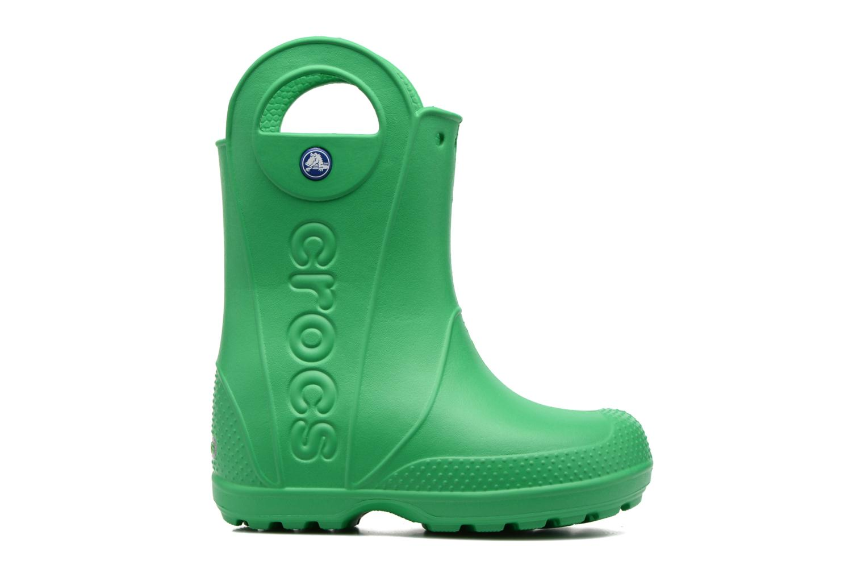Bottes Crocs Handle it Rain Boot kids Vert vue derrière