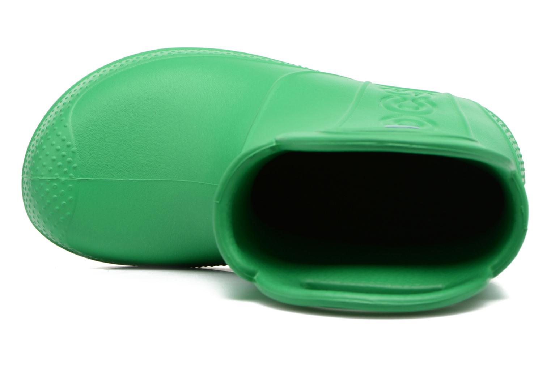 Bottes Crocs Handle it Rain Boot kids Vert vue gauche