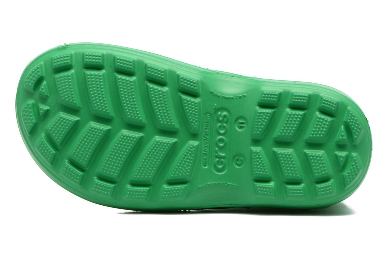 Bottes Crocs Handle it Rain Boot kids Vert vue haut