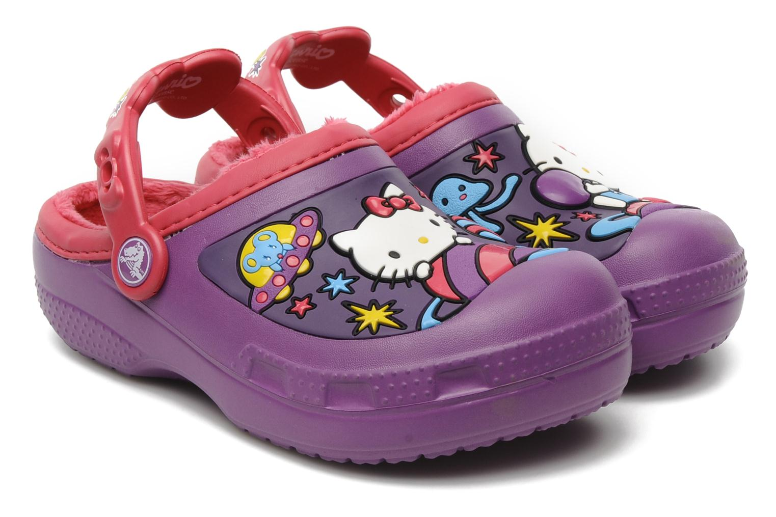 Dahlia Kitty Lined Raspberry Clog Adventure Hello Space Crocs RWfqS7H