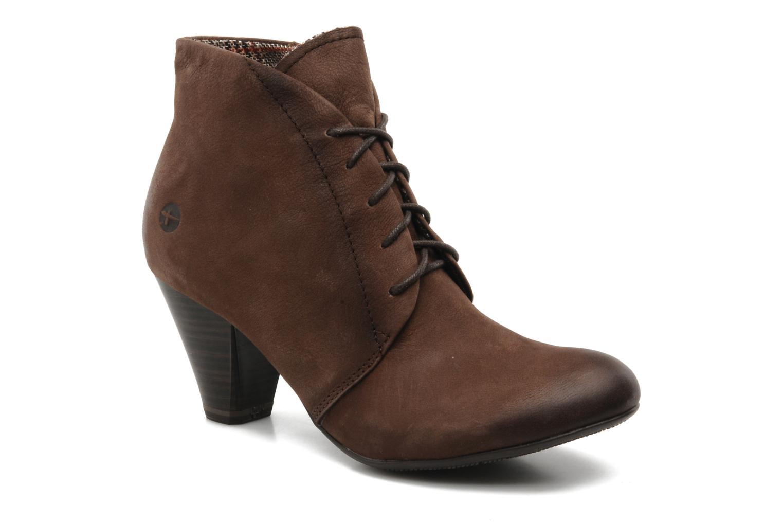 Bottines et boots Tamaris Natallina Marron vue détail/paire