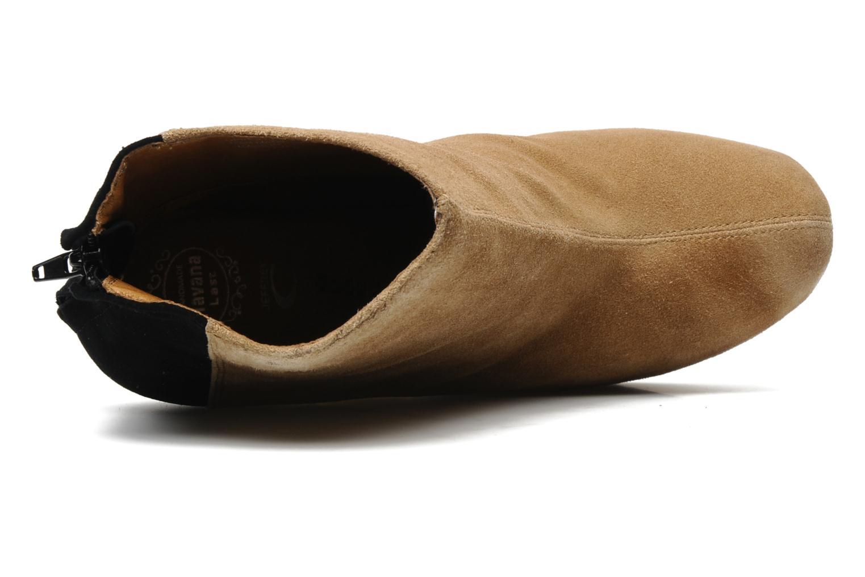Bottines et boots Jeffrey Campbell NITEMATE (WITH GOLD STAR) Beige vue gauche