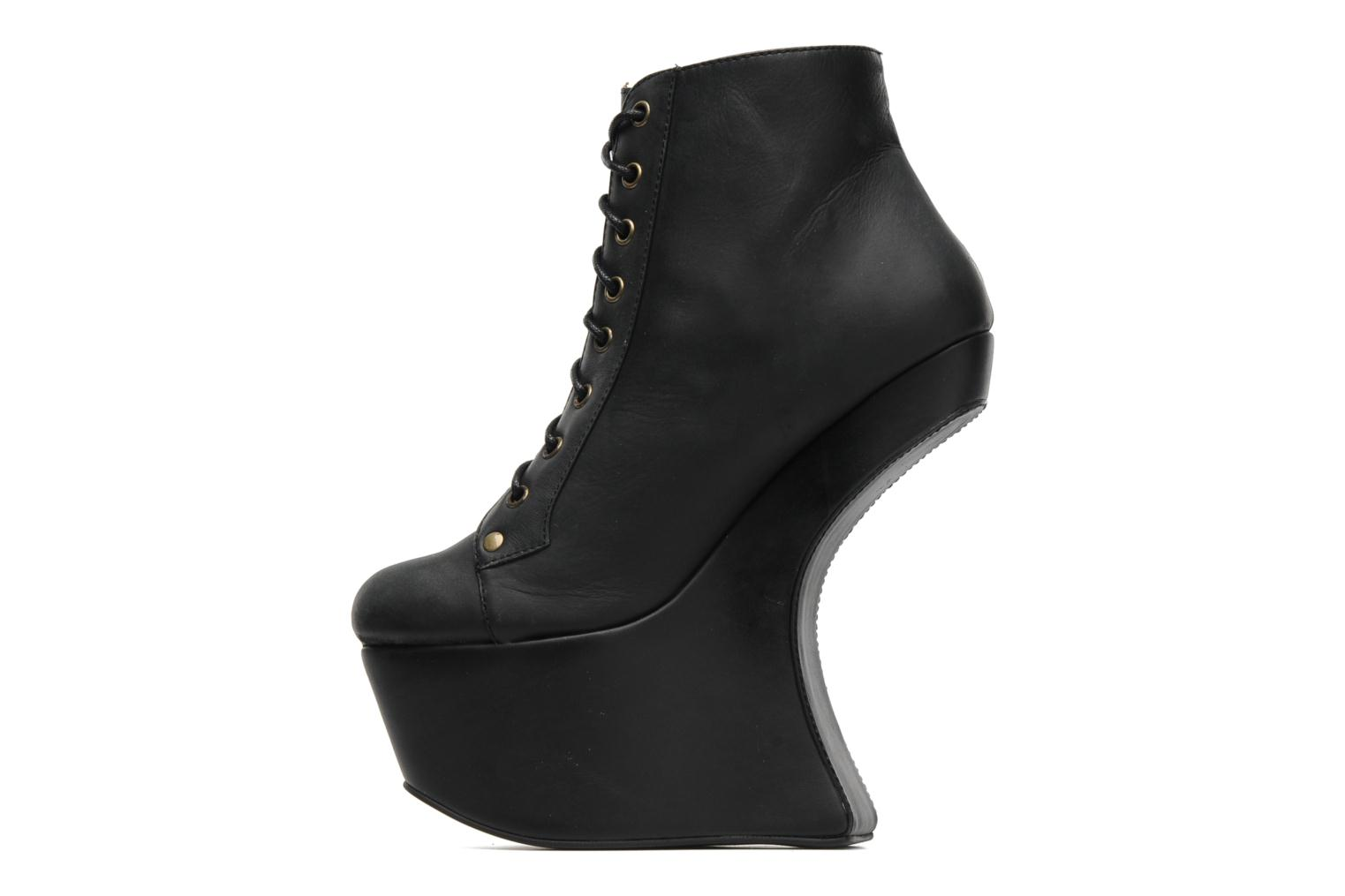 Ankle boots Jeffrey Campbell NiteLita Black front view