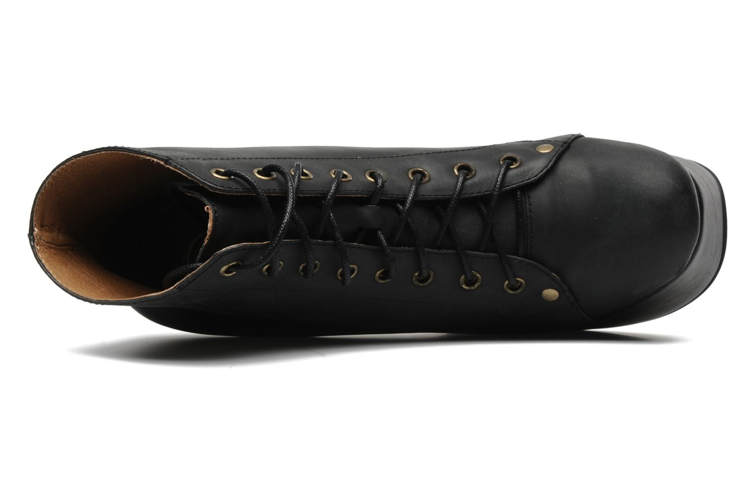 Ankle boots Jeffrey Campbell NiteLita Black view from the left