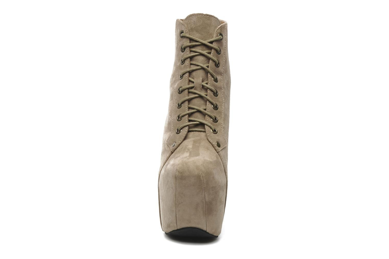 Stiefeletten & Boots Jeffrey Campbell FREDA beige schuhe getragen