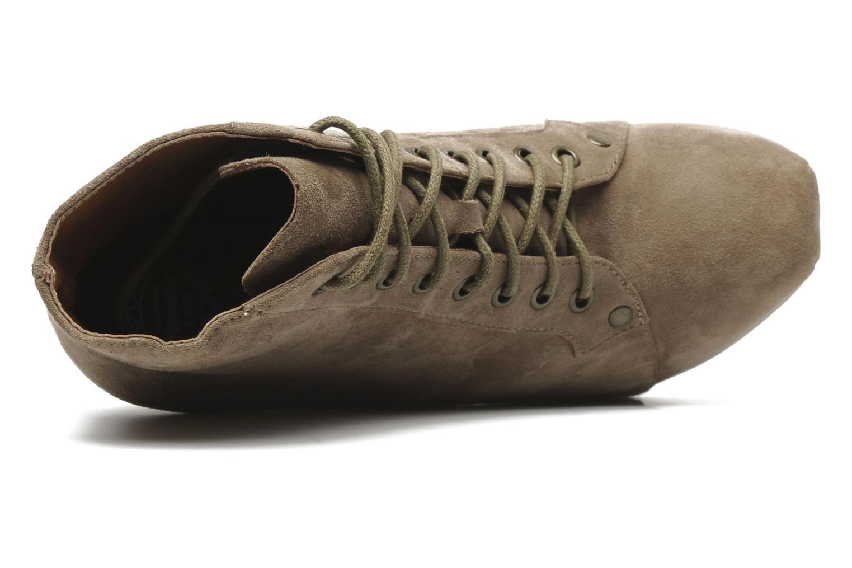 Stiefeletten & Boots Jeffrey Campbell FREDA beige ansicht von links