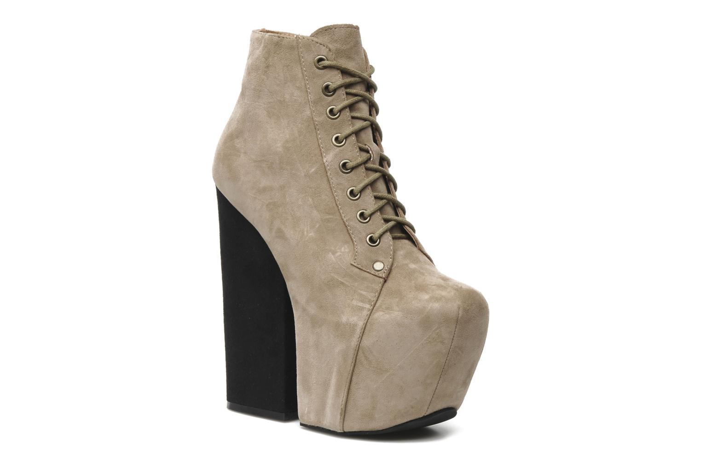 Stiefeletten & Boots Jeffrey Campbell FREDA beige detaillierte ansicht/modell