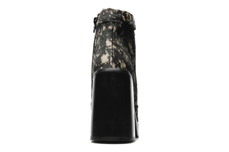 DORADO NATURAL/BLACK HAIR CALF