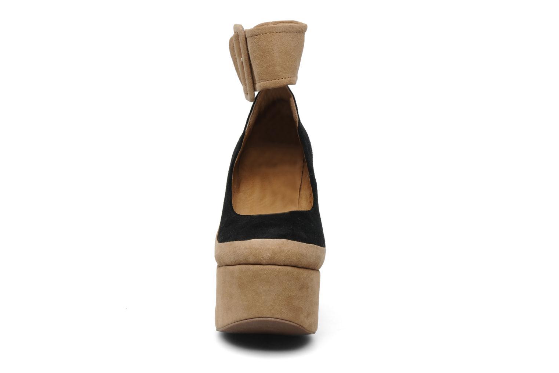 High heels Jeffrey Campbell BOOP-D-DOO Beige model view