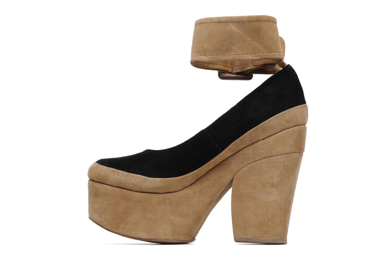 High heels Jeffrey Campbell BOOP-D-DOO Beige front view