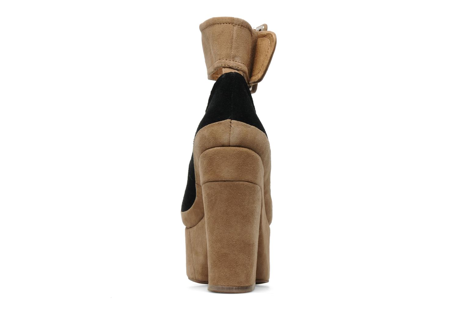 High heels Jeffrey Campbell BOOP-D-DOO Beige view from the right