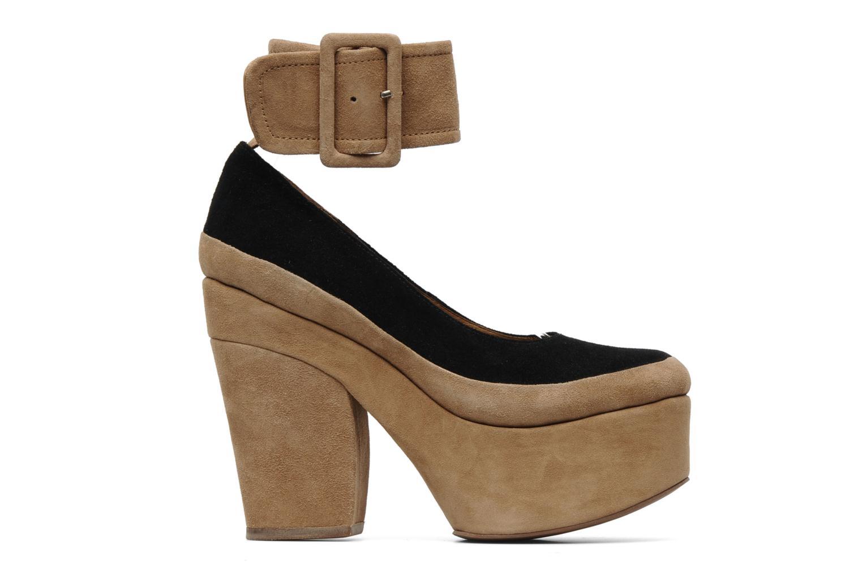 High heels Jeffrey Campbell BOOP-D-DOO Beige back view