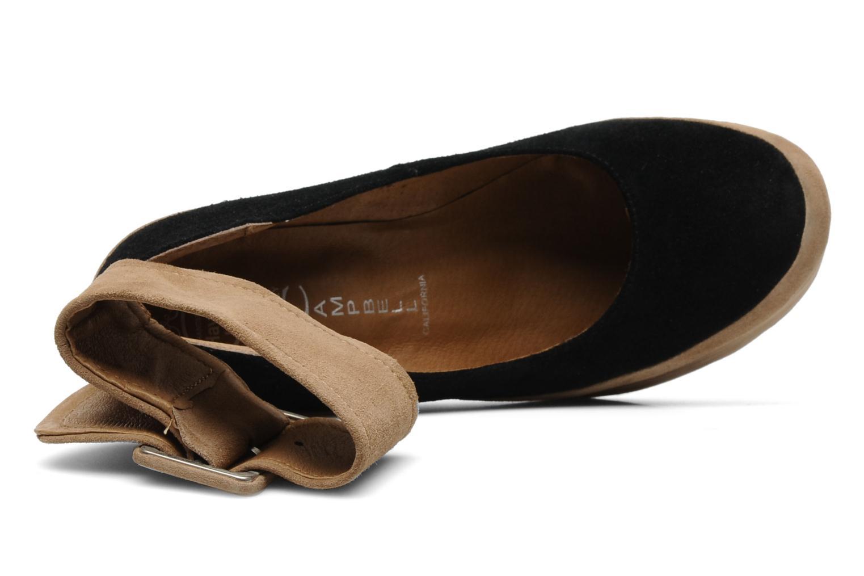High heels Jeffrey Campbell BOOP-D-DOO Beige view from the left