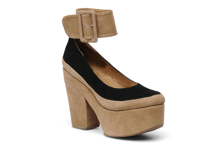 High heels Jeffrey Campbell BOOP-D-DOO Beige detailed view/ Pair view