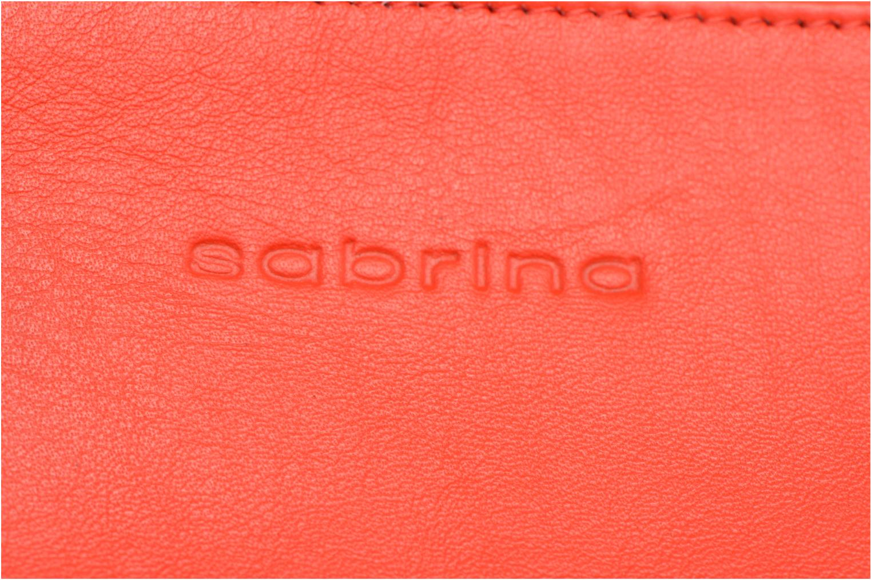 Petite Maroquinerie Sabrina Nine Rouge vue gauche