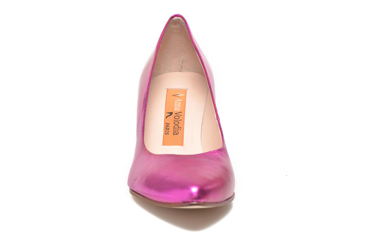 High heels Anna Volodia Ana Pink model view