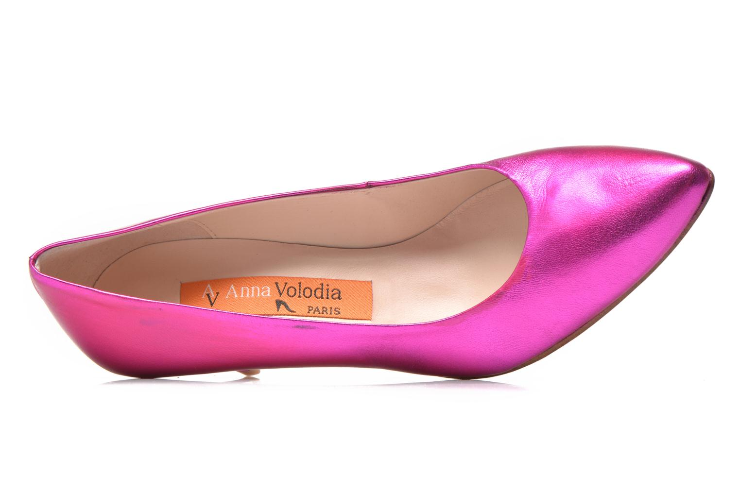 High heels Anna Volodia Ana Pink view from the left