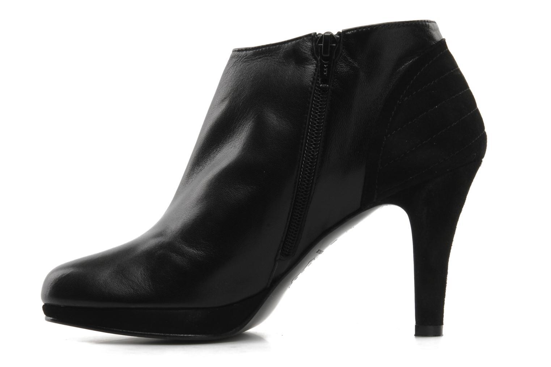 Bottines et boots Anna Volodia Aida Noir vue face