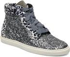 Silver/Glitter, Leopard