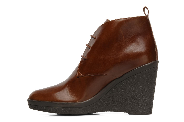 Boots en enkellaarsjes Elizabeth Stuart Agathe Bruin voorkant