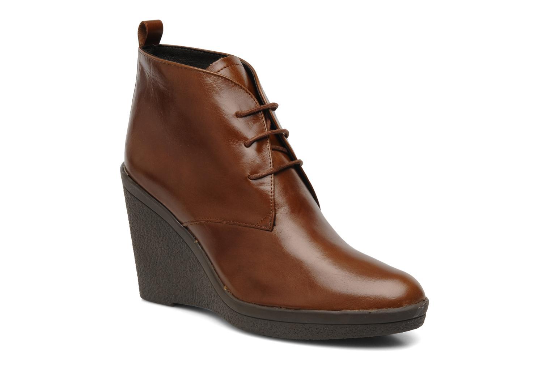 Boots en enkellaarsjes Elizabeth Stuart Agathe Bruin detail