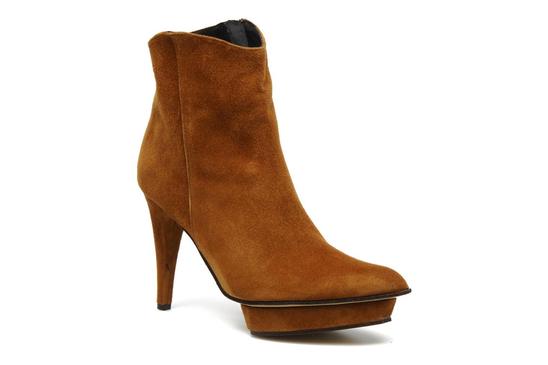Bottines et boots Elizabeth Stuart Cid Marron vue détail/paire