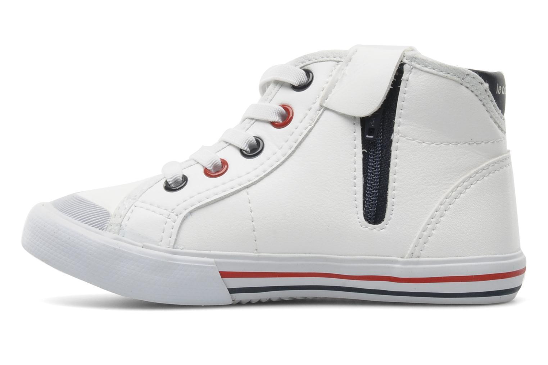 Sneaker Le Coq Sportif SAINT MALO MID SYN INF weiß ansicht von vorne
