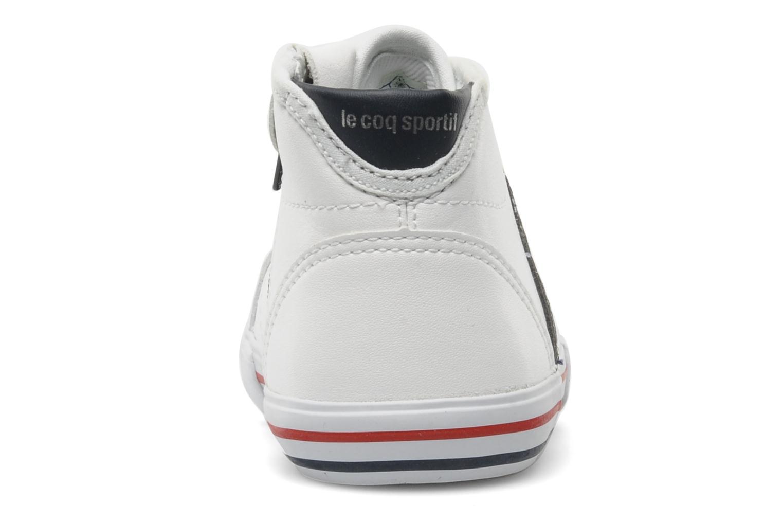 Sneaker Le Coq Sportif SAINT MALO MID SYN INF weiß ansicht von rechts