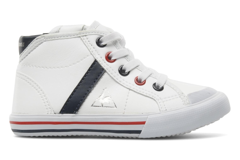 Sneaker Le Coq Sportif SAINT MALO MID SYN INF weiß ansicht von hinten