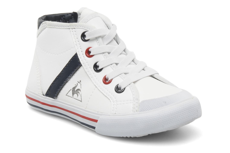Sneaker Le Coq Sportif SAINT MALO MID SYN INF weiß detaillierte ansicht/modell
